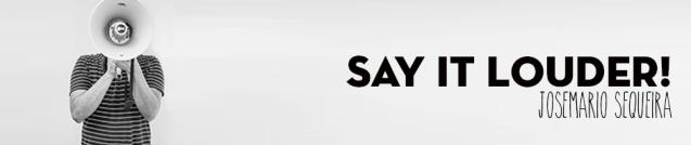 Say it louder header